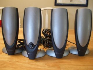 Altec Lansing ADA745 Computer Speakers No Subwoofer