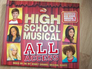 Disney High School Musical All Access Book HSM New $20