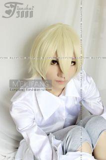 Kuroshitsuji Black Butler Alois Trancy Cosplay Wig M76