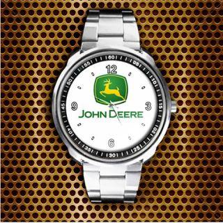 NEW JOHN DEERE TRACTOR DECK LAWN MOWER 316 318 UNISEX METAL WATCH