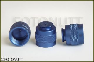 Paintball HPA/CO2 Tank Thread Protector Cap Thread Savers BLUE np
