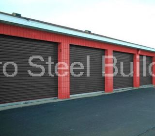 Duro Steel 40x80x14 Metal Buildings DiRECT New Salvage Storage Garage