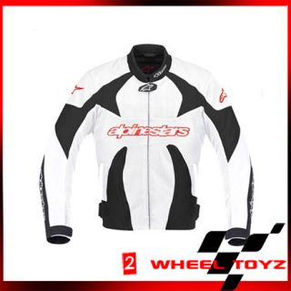 Alpinestars T GP Plus Air Motorcycle Jacket Black White Red Small