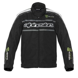 Alpinestars Howler Waterproof Jacket Black/Green Size XX Large