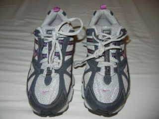 Nike Alvord Series Trail Running Cross Training Shoes Grey Pink Womens