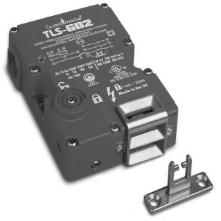 ALLEN BRADLEY TLS2 GD2 SAFETY INTERLOCK SWITCH GUARD LOCKING W/ KEY