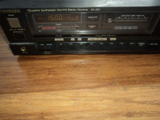 Technics Quartz Synthesizer Am FM Stereo Receiver SA 937