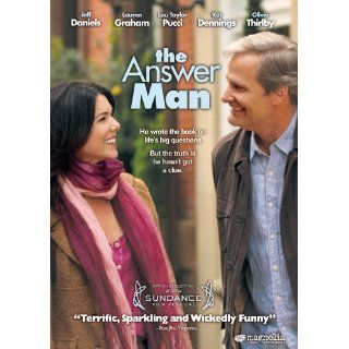 The Answer Man DVD Jeff Daniels Lauren Graham Olivia Thirlby Kat