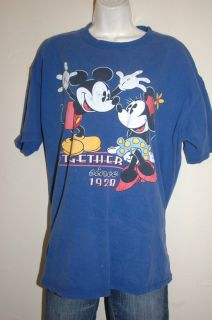 XL Disney Mickey Minnie Mouse T Shirt Mickey Co Vintage