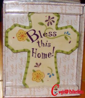 53184 Bless This Home Cross Wall Plaque Kitchen Inspiration