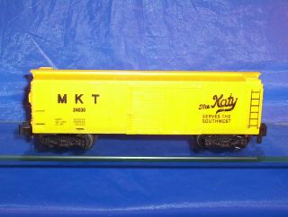 AMERICAN FLYER Train MKT BOX CAR S Gauge RARE UNCATALOGUED Original AF