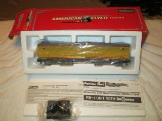 American Flyer Train UNION PACIFIC PB 1 Non Powered Engine 1991 6