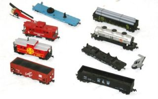 8ct Lot Asst Vintage HO Gauge Lot American Flyer Lionel Athearn