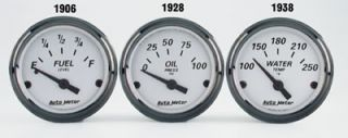 Autometer American Platinum Electrical Fuel Level Gauge 2 1 16 Dia