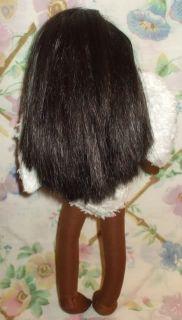 Mattel 14 Black African American Angel Doll Vinyl Cloth Bendable Arms
