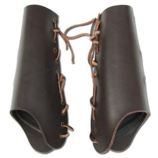 Assassin Creed Altair Medieval LARP Leather Armor Costume Bracer Set