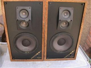 Vintage Altec Lansing Design 5 Speakers 8 OHMS Made in the USA
