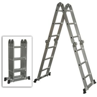 Features of Multi Purpose Aluminum Ladder Folding Step Ladder Scaffold