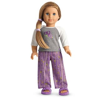 New in Box American Girl Doll of The Year McKennas Pajamas Limited