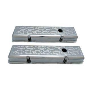 Spectre Performance Aluminum Valve Covers 4990 Chevy SBC 283 305 350