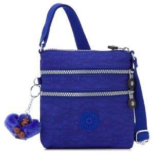 Kipling Alvar Small Shoulder Crossbody Mini Bag Blue Violet