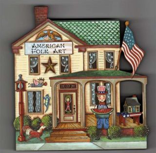 Brandywine Collectible Houses Shops American Folk Art