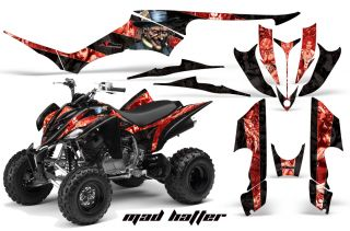 AMR Racing Quad Graphic Yamaha Raptor 350 Sticker Kit I
