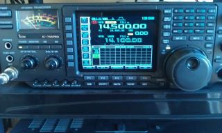 Amateur Radio Icom 756 Pro in Excellent Condition