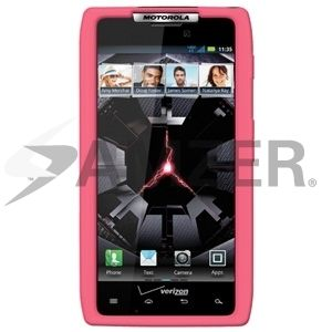 Amzer Silicone Skin Jelly Fit Case Cover for Motorola Droid RAZR Baby