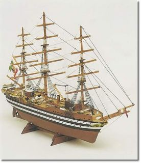 amerigo vespucci miniature wood model kit by mamoli italy