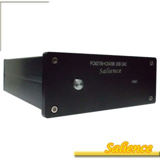 Audio PCM2706 CS4398 USB Input DAC Digital Analog Converter