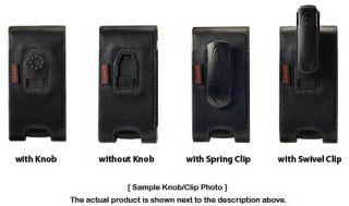 Cellet Noble Black Leather Vertical Case Pouch Belt Clip Loop for