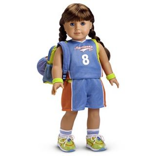 American Girl Retired Basketball Outfit II Complete in Very Good Cond