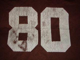 VINTAGE CLEVELAND BROWNS #80 ANDRE RISON NFL FOOTBALL JERSEY STARTER