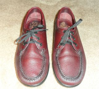 SAS Amigo Mens Cordovan Leather Shoes Oxfords Size 8 W