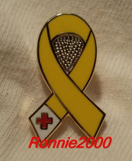 SAF RIBBON American Red Cross pin BRAND NEW PIN