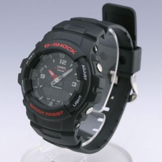 Casio Analog Digital Dual Time G Shock Watch G100 1BV