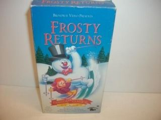 Frosty the Snowman Returns part 2   VHS kids Cartoon video CBS