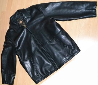 Andrew Marc New York Lined Leather Jacket $1