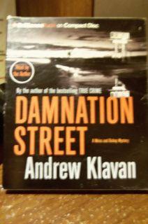 Brilliance audio Damnation Street Andrew klavan On 5 Compact Disc
