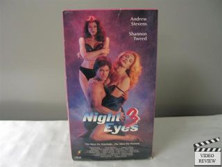 Night Eyes 3 VHS 1993 Shannon Tweed Andrew Stevens 086625696736