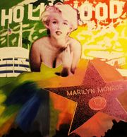 Steve Kaufman Marilyn Hollywood Star Unique Make OFFER See Live Sale