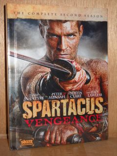 Spartacus Vengeance DVD 2012 3 Disc Set Peter Mensah Lucy Lawless
