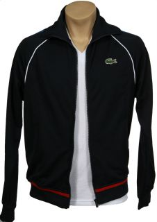 Lacoste Andy Roddick Full Zip Track Jacket with Embroidered Andy