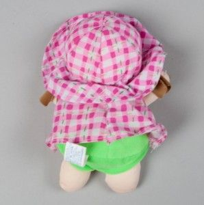 dos 6 Beanie Baby Doll Plush Lovey 1999 Amy Embroidered Name