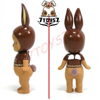 Dreams Sonny Angel Figure 2012 Easter 4 Rabbit Extra Bitter Chocolate