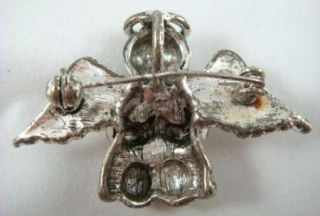 Praying Little Boy Angel Wings Kneeling Brooch Pin Pendant