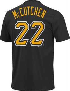 Andrew McCutchen Youth Black Majestic Name and Number Pittsburgh