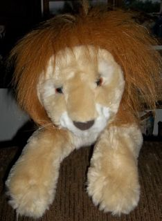 Toys R Us Animal Alley Plush Stuffed 13 inch Lion ToyBig Cat Christmas