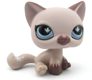 Littlest Pet Shop LPS Cat Toy Animal Figures Collection Free Shipping